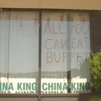 It ain't Chinese food if there isn't any engrish!